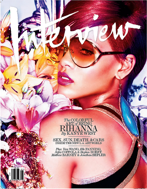 rihanna231 Rihanna Covers Interview Magazine