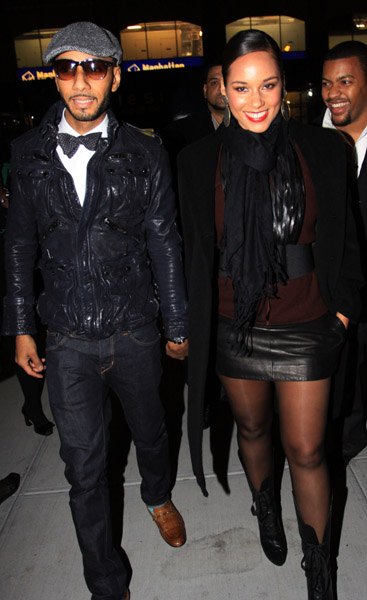 swizz alicia Hot Shots: Alicia Keys & Swizz Beats Party IN NYC