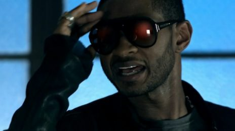 Video: Usher & Fan Get Close