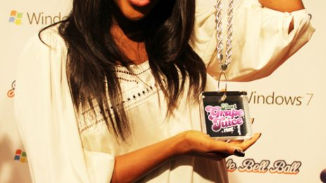 Hot Shots: That Grape Juice At Jingle Bell Ball 2010