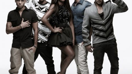 Alexandra & JLS Pose For 2KX Clothing