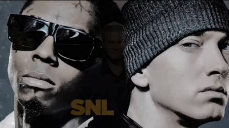 Eminem & Lil Wayne Perform On 'SNL'