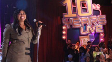 Jazmine Sullivan Performs On '106 & Park'