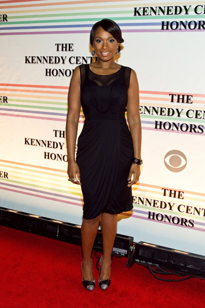 jenniferhudson1 Hot Shots: Jennifer Hudson At The 33rd Annual Kennedy Center Honors