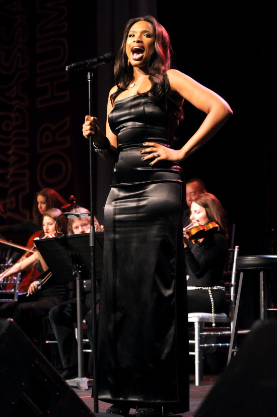 jenniferhudson2 Hot Shots: Jennifer Hudson Performs In LA