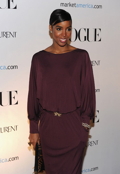kelly rowland 32 Hot Shots: Rowland Attends An Evening In Vogue