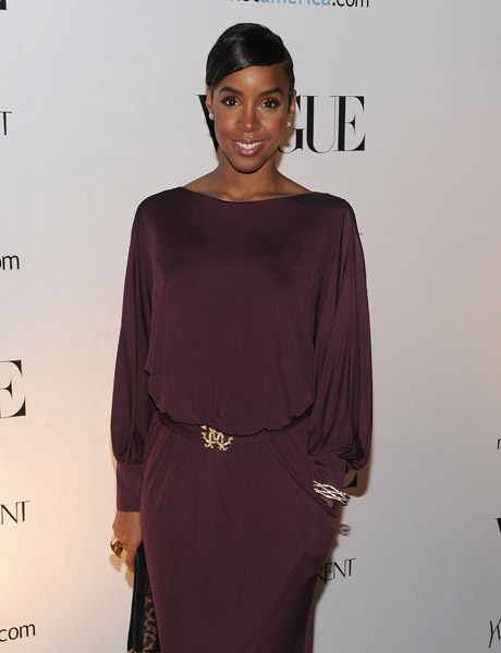 kelly rowland 56 Hot Shots: Rowland Attends An Evening In Vogue