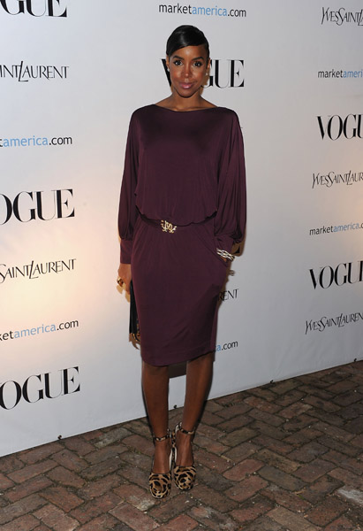 kelly rowland3 Hot Shots: Rowland Attends An Evening In Vogue