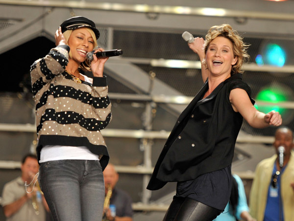 keri i Hot Shots: VH1 Divas 2010 Rehearsals