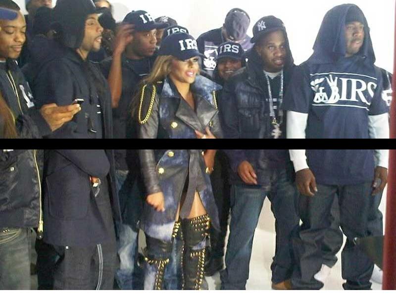 kim 32 Hot Shots: Lil Kim On Set Of Black Friday Video