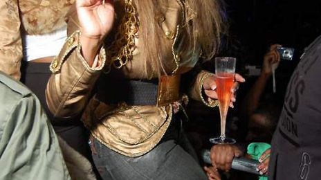 Hot Shots: Lil' Kim At Club All Stars