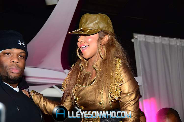 kim k Hot Shots: Lil Kim At Club All Stars