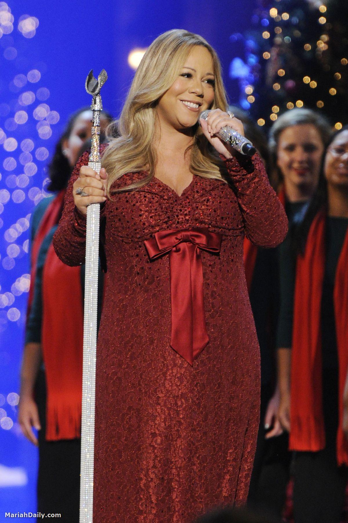 mariah6 Hot Shots: Mariah, Maxwell & Others Perform In Washington