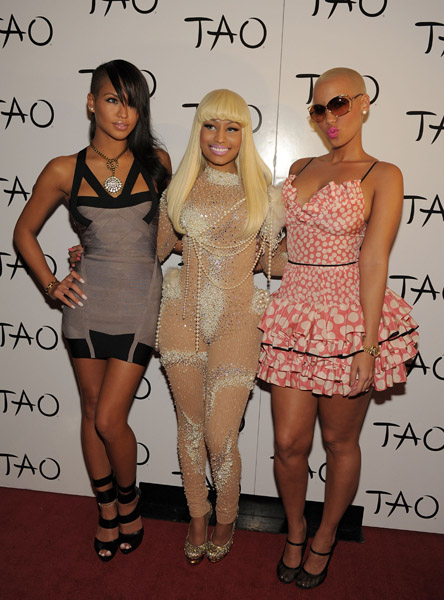 nickibirthday1 Hot Shots: Nicki Minaj Celebrates Birthday In Vegas