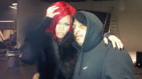 Hot Shot: Rihanna On The Set Of Kanye West's 'All Of The Lights' Video