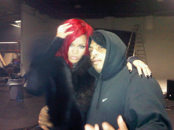 rihannahype Hot Shot: Rihanna On The Set Of Kanye Wests All Of The Lights Video