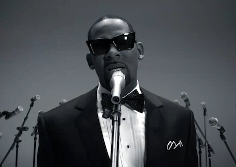 rkelly letter R. Kelly Soars On Netherlands X Factor