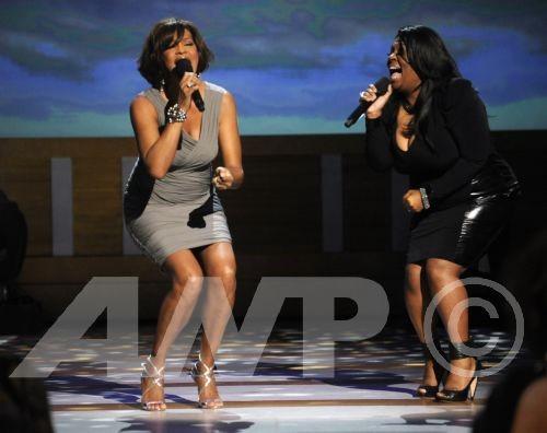 whitney kim b Hot Shots: Whitney Rocks BET Celebration of Gospel