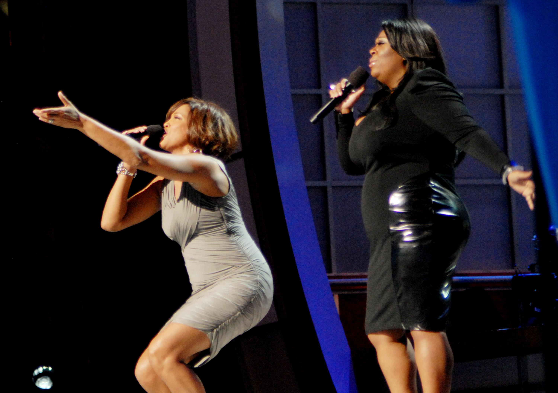 Hot shots whitney rocks bet celebration of gospel that for Performance house