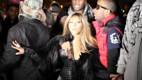 94 e1294232765882 Behind The Scenes: Lil Kims Clap Clap/Black Friday Video