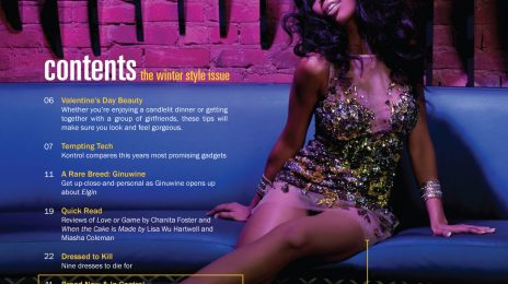 Hot Shots: Brandy & Ray J's Full Kontrol Magazine Spread
