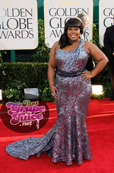 amber glee Hot Shots: Golden Globe Awards 2011 Red Carpet Arrivals