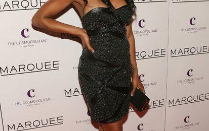 Hot Shot: Brandy At Marquee Nightclub
