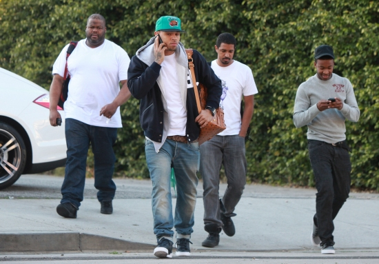 chrisbrown1 Hot Shots: Chris Brown Gets Serious In Los Angeles
