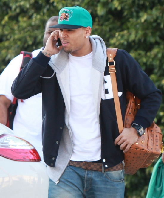 chrisbrown21 Hot Shots: Chris Brown Gets Serious In Los Angeles