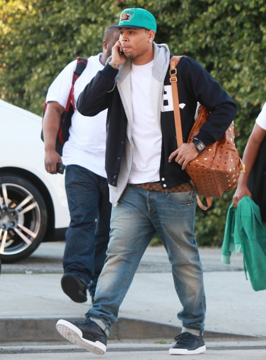 chrisbrown31 Hot Shots: Chris Brown Gets Serious In Los Angeles