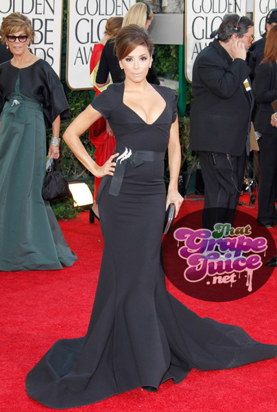 eva globe Hot Shots: Golden Globe Awards 2011 Red Carpet Arrivals