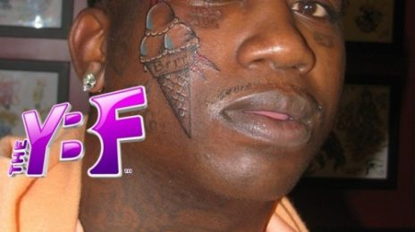 Gucci Mane Gets Ice Cream Tattoo...On His Face