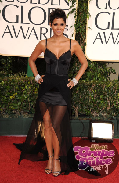 halle 23 Hot Shots: Golden Globe Awards 2011 Red Carpet Arrivals