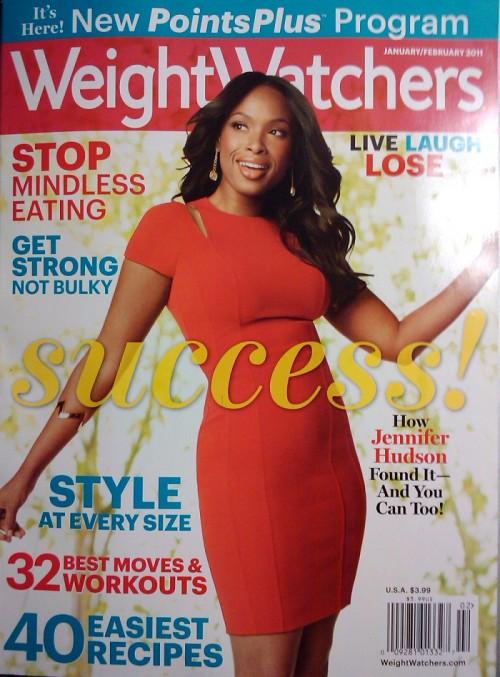 Jennifer Hudson Covers Weight Watchers