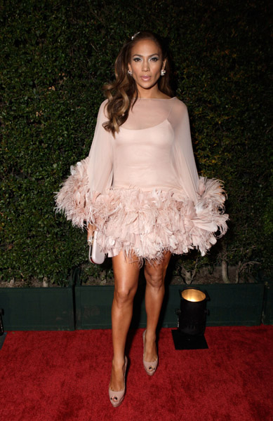 jenniferlopez1 Hot Shots: Artists Party After The Golden Globes