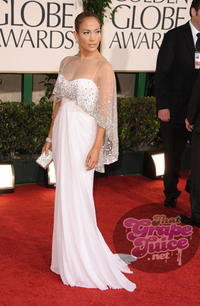 jlo 9a Hot Shots: Golden Globe Awards 2011 Red Carpet Arrivals