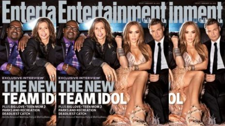 Jennifer Lopez & Idol Cast Cover Entertainment Weekly