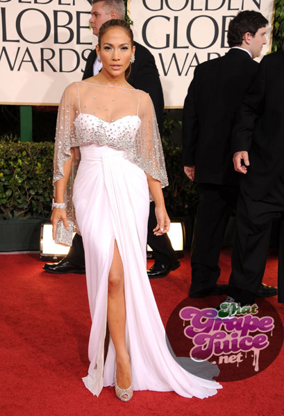 jlo d Hot Shots: Golden Globe Awards 2011 Red Carpet Arrivals