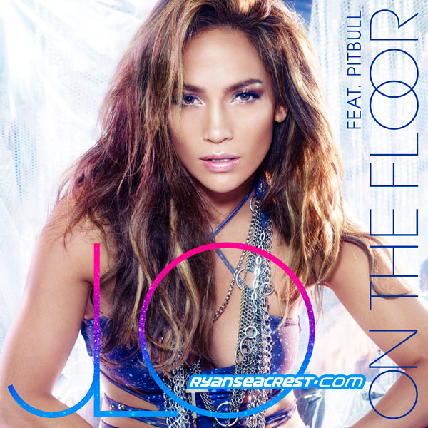 jlo Jennifer Lopez Unveils On The Floor (Ft. Pitbull) Single Cover