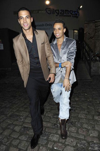 jlscaptionthis Caption This: Marvin & Aston Of JLS Party In London
