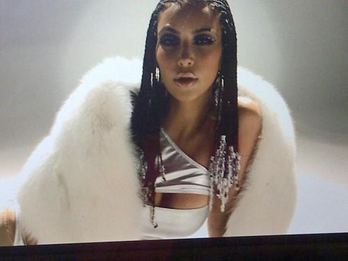kim k12 Kim Kardashian Premières New Single / Video Stills