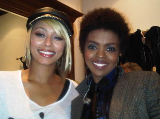 laurynkeri Hot Shot: Keri Hilson Meets Lauryn Hill