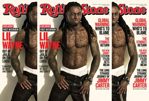 lil wayne rolling Lil Wayne Covers Rolling Stone