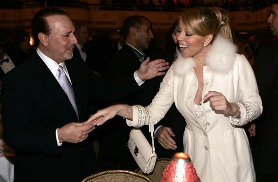 mariahtommy3 Flashback: Mariah Carey Meets Tommy Mottolas Wife In 2005