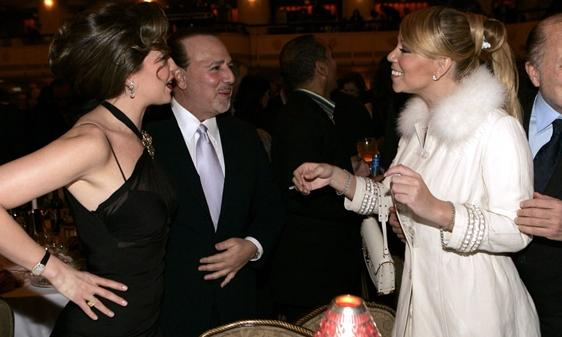 mariahtommy4 Flashback: Mariah Carey Meets Tommy Mottolas Wife In 2005