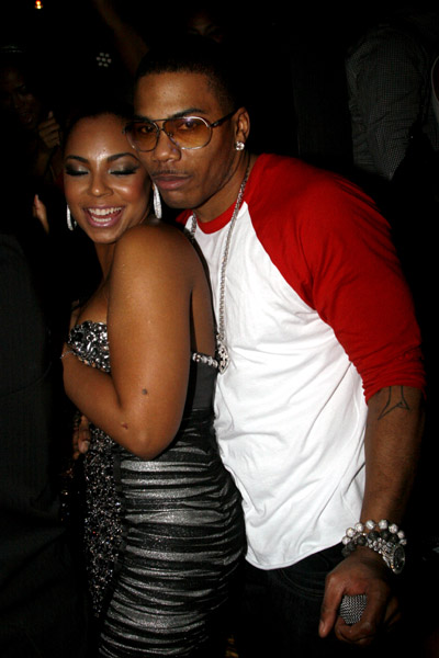 nelly 45 Hot Shots: Nelly & Ashanti Get Close At New Years Party
