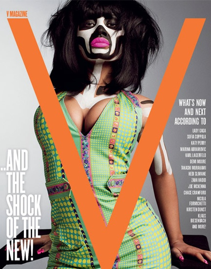 nicki 1 Minaj Goes Tribal In Must See V Shoot