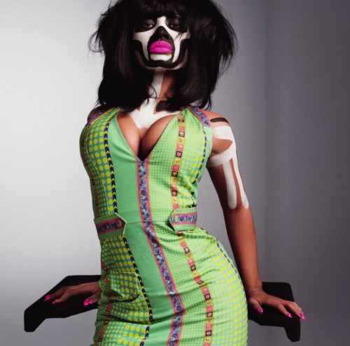 nicki 3 e1294842022918 Minaj Goes Tribal In Must See V Shoot