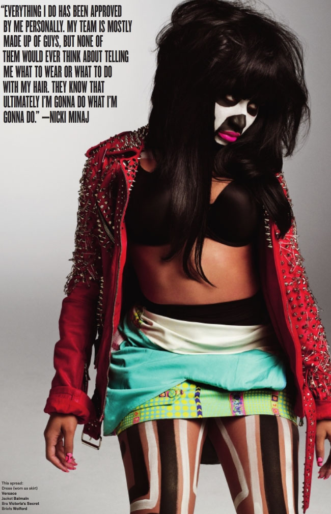 nicki 56 Minaj Goes Tribal In Must See V Shoot