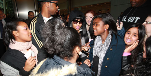 nicki minaj 2 Hot Shots: Nicki Minaj Arrives In London Town